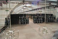 Vinlager i Abrau Durso Arkivbilder
