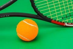Vinnande tennisturneringar arkivfoto