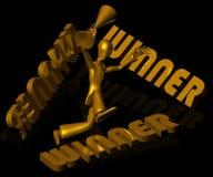 vinnare vektor illustrationer