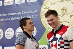 Vinnare av den Salnikov koppen Arkivbilder