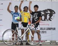 vinnare för 2011 cirkulering malaysia ocbc arkivfoto