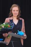 vinnare för avstånd för skönhetstridkopia Royaltyfria Bilder
