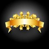 vinnare för juletiketttecken Royaltyfri Fotografi
