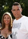 Vinnie Jones and Tanya Jones Royalty Free Stock Images