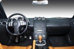 Vinnitsa,乌克兰- 2012年4月24日 日产350Z概念汽车 体育运动 免版税库存照片