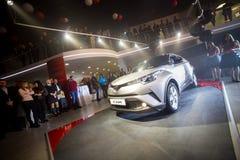 Vinnitsa, Ουκρανία - 16 Δεκεμβρίου 2016 Αυτοκίνητο έννοιας της Toyota γ-ωρ.  Στοκ Φωτογραφίες