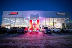 Vinnitsa, Ουκρανία - 16 Δεκεμβρίου 2016 Αυτοκίνητο έννοιας της Toyota γ-ωρ.  Στοκ Εικόνες