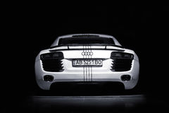 Vinnitsa, Ουκρανία - 11 Νοεμβρίου 2012 Αυτοκίνητο έννοιας Audi R8 Audi s Στοκ Φωτογραφίες