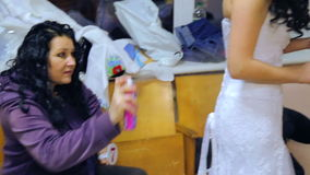 VINNITSA, ΟΥΚΡΑΝΙΑ - 12 ΔΕΚΕΜΒΡΊΟΥ: Νύφη ανταγωνισμού του έτους φιλμ μικρού μήκους
