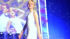 VINNITSA, УКРАИНА - 12-ОЕ ДЕКАБРЯ: Конкурс акции видеоматериалы