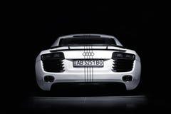 Vinnitsa, Украина - 11-ое ноября 2012 Автомобиль концепции Audi R8 Audi s Стоковые Фото