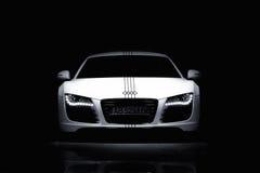 Vinnitsa, Украина - 11-ое ноября 2012 Автомобиль концепции Audi R8 Audi s Стоковое Фото
