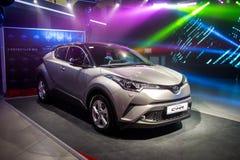 Vinnitsa, de Oekraïne - December 16, 2016 Het Conceptenauto van Toyota c-u Aan Royalty-vrije Stock Afbeelding