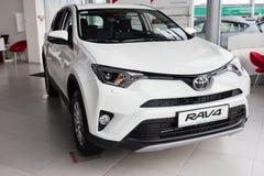 Vinnitsa, de Oekraïne - Januari 10, 2018 Het conceptenauto van Toyota RAV 4 - Stock Fotografie
