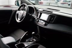 Vinnitsa, de Oekraïne - Januari 10, 2018 Het conceptenauto van Toyota RAV 4 - Stock Afbeeldingen