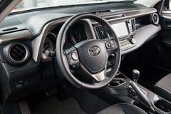 Vinnitsa, de Oekraïne - Januari 10, 2018 Het conceptenauto van Toyota RAV 4 - Stock Afbeelding