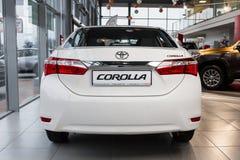 Vinnitsa, de Oekraïne - Januari 10, 2018 Toyota Corolla-conceptenauto Stock Fotografie