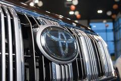 Vinnitsa, de Oekraïne - Januari 10, 2018 Toyota-Landcruise Prado c Stock Afbeelding