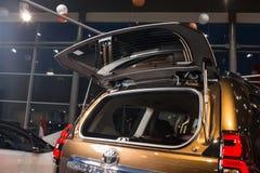 Vinnitsa, de Oekraïne - Januari 10, 2018 Toyota-Landcruise Prado c Royalty-vrije Stock Afbeelding