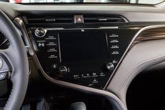 Vinnitsa, de Oekraïne - Maart 18, 2018 Toyota Camry-conceptenauto - I Stock Afbeelding
