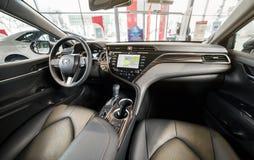 Vinnitsa, de Oekraïne - Maart 18, 2018 Toyota Camry-conceptenauto - I Royalty-vrije Stock Afbeeldingen