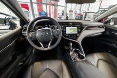 Vinnitsa, de Oekraïne - Maart 18, 2018 Toyota Camry-conceptenauto - I Stock Foto's