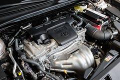 Vinnitsa, de Oekraïne - Maart 18, 2018 Toyota Camry-conceptenauto - I royalty-vrije stock afbeelding