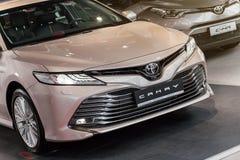Vinnitsa, de Oekraïne - Maart 18, 2018 Toyota Camry-conceptenauto - p Royalty-vrije Stock Foto's