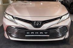 Vinnitsa, de Oekraïne - Maart 18, 2018 Toyota Camry-conceptenauto - p Royalty-vrije Stock Afbeelding