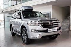 Vinnitsa, de Oekraïne - Maart 18, 2018 Toyota-het concept van de Landkruiser Stock Foto's