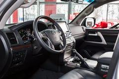 Vinnitsa, de Oekraïne - Maart 18, 2018 Toyota-het concept van de Landkruiser Royalty-vrije Stock Foto's