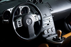 Vinnitsa, Ucrânia - 24 de abril de 2012 Carro do conceito de Nissan 350Z esporte Fotos de Stock Royalty Free