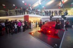 Vinnitsa, Ucrânia - 16 de dezembro de 2016 Carro do conceito de Toyota C-HR A Foto de Stock
