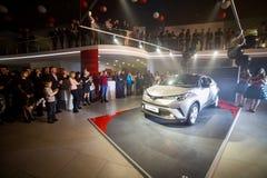 Vinnitsa, Ucrânia - 16 de dezembro de 2016 Carro do conceito de Toyota C-HR A Imagens de Stock