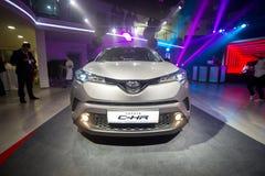 Vinnitsa, Ucrânia - 16 de dezembro de 2016 Carro do conceito de Toyota C-HR A Fotografia de Stock Royalty Free