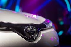 Vinnitsa, Ucrânia - 16 de dezembro de 2016 Carro do conceito de Toyota C-HR Franco Fotos de Stock
