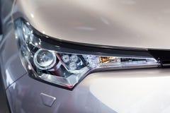 Vinnitsa, Ucrânia - 16 de dezembro de 2016 Carro do conceito de Toyota C-HR Franco Fotos de Stock Royalty Free