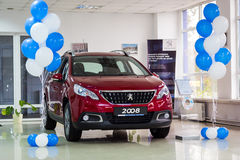 Vinnitsa, Ucrânia - 22 de outubro de 2016 Carro 2008 do conceito de Peugeot pe Imagem de Stock Royalty Free