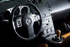 Vinnitsa, Ucraina - 24 aprile 2012 Automobile di concetto di Nissan 350Z sport Fotografie Stock Libere da Diritti