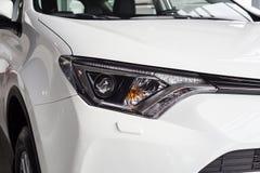 Vinnitsa, Ucraina - 10 gennaio 2018 Concetto di Toyota RAV 4 automobilistico fotografia stock libera da diritti