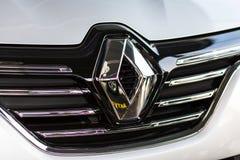 Vinnitsa Ukraina, Kwiecień, - 20, 2018 Renault MEGANE pojęcia samochód zdjęcie royalty free