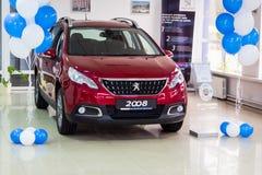 Vinnitsa Ukraina - Oktober 22, 2016 Peugeot begreppsbil 2008 pe Arkivfoto