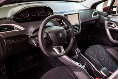 Vinnitsa Ukraina - Oktober 22, 2016 Peugeot begreppsbil 2008 pe Arkivfoton