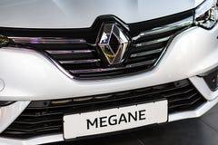 Vinnitsa, Ukraine - 20. April 2018 Konzeptauto Renaults MEGANE Stockfotografie
