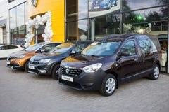 Vinnitsa, Ukraine - 20. April 2018 Motor- Renault-Konzept presen Stockbild