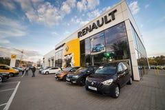 Vinnitsa, Ukraine - 20. April 2018 Motor- Renault-Konzept presen Lizenzfreies Stockbild