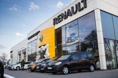 Vinnitsa, Ukraine - 20. April 2018 Motor- Renault-Konzept presen Stockfotos