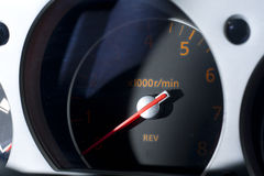 Vinnitsa, Ukraine - April 24, 2012.Nissan 350Z concept car.Sport Royalty Free Stock Image