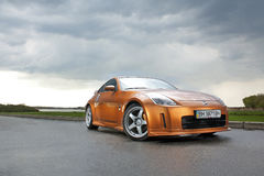 Vinnitsa, Ukraine - April 24, 2012.Nissan 350Z concept car.Sport Royalty Free Stock Photo