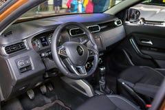 Vinnitsa, Ukraine - 20. April 2018 Renault-STAUBTUCH-Konzeptauto Lizenzfreie Stockfotos